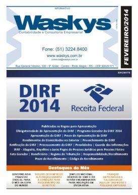 Boletim Informativo Fevereiro/2014