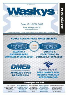 Boletim Informativo Março/2014
