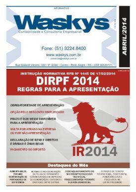Boletim Informativo Abril/2014
