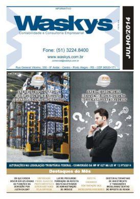 Boletim Informativo Julho/2014