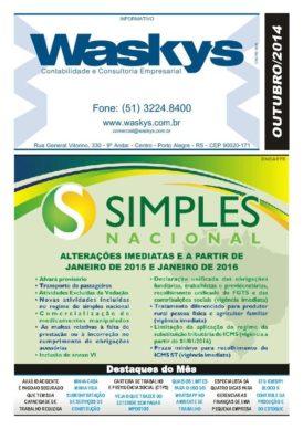 Boletim Informativo Outubro/2014
