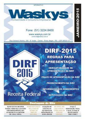 Boletim Informativo Janeiro/2015