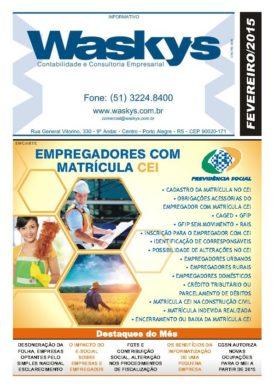 Boletim Informativo Fevereiro/2015