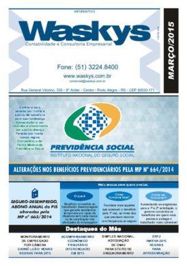Boletim Informativo Março/2015