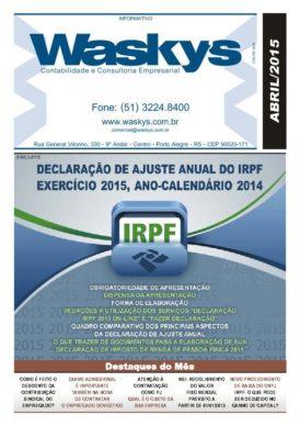 Boletim Informativo Abril/2015