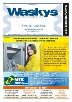 Boletim Informativo Setembro/2015