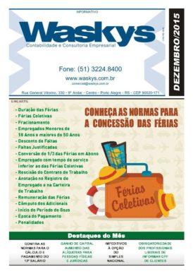 Boletim Informativo Dezembro/2015