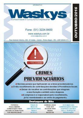 Boletim Informativo Outubro/2016