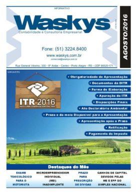 Boletim Informativo Agosto/2016