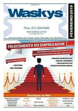 Boletim Informativo Fevereiro/2019