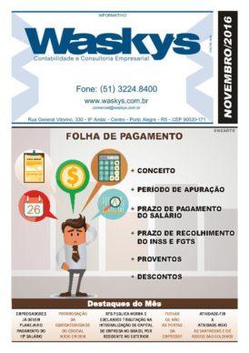 Boletim Informativo Novembro/2016