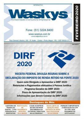 Boletim Informativo Fereveiro/2020